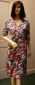 Sofia Hazel print dress