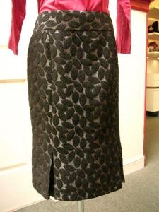 AKN black skirt