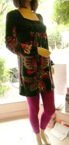 hazel butterfly tunic