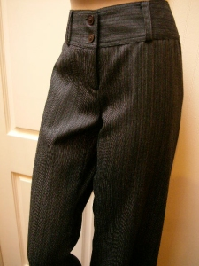 AKN wool pants