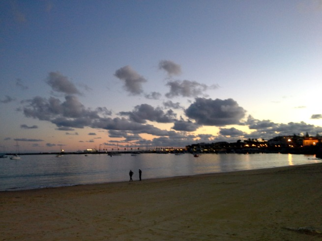 cascais eve clouds